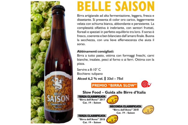 BELLE SAISON - Farmhouse ale 75 cl