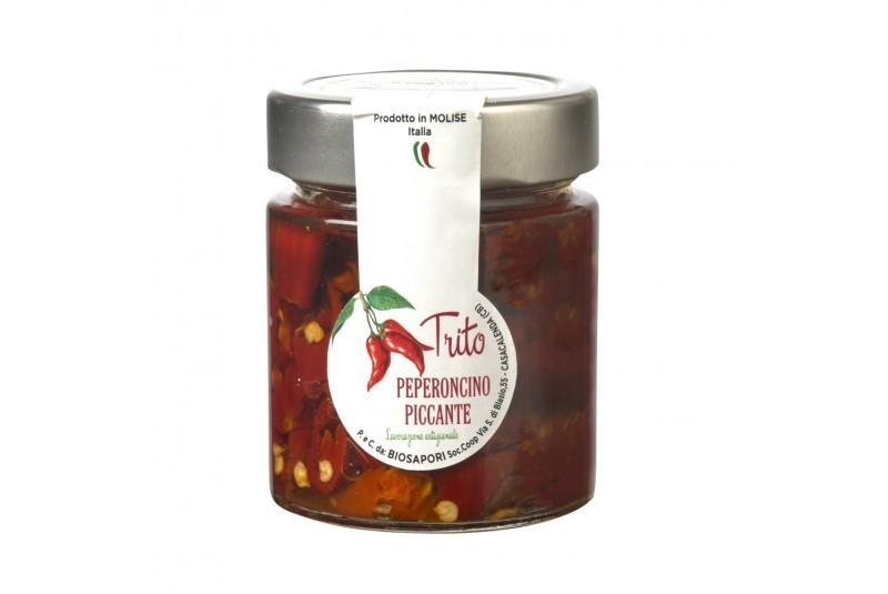 Trito Peperoncino Piccante in olio EVO