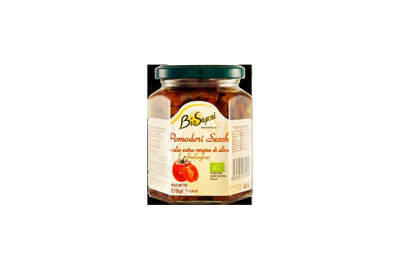 Pomodori Secchi BIO Sott'olio EVO
