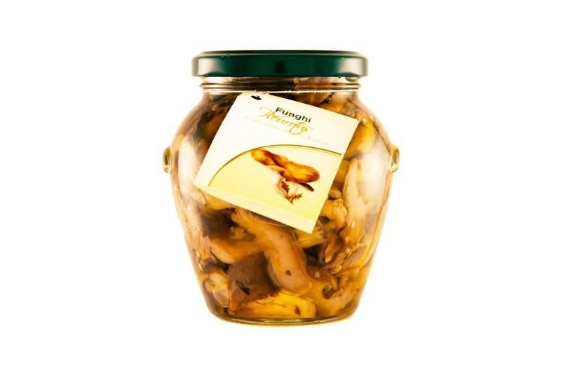 Funghi Pleurotus Sott'olio EVO
